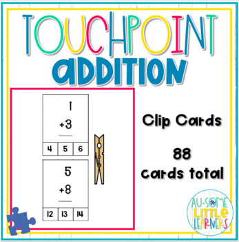 Touchpoint Addition Clip Cards - Special Education