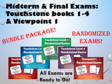 Touchstone & Viewpoint 1 Randomized Exams - Bundle Package