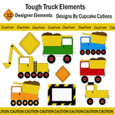Tough Construction Truck Art Digital Set