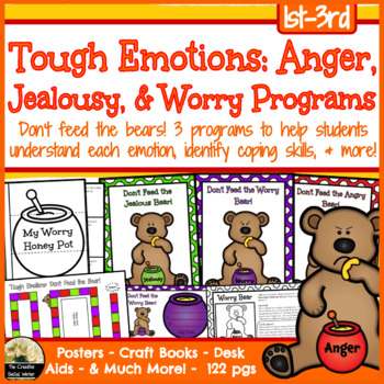 Tough Emotions: Anger, Jealousy, & Worry Programs