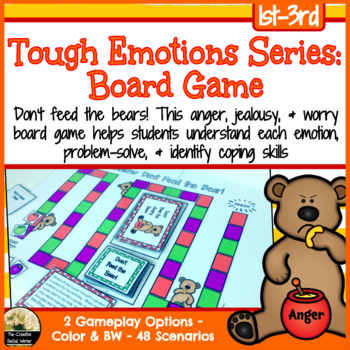 Tough Emotions: Anger, Jealousy, & Worry Board Game