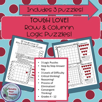 Tough Love!  Logic Puzzle!  Heart Theme!  Early Finishers!