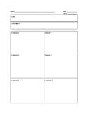 Toulmin Essay Graphic Organizer