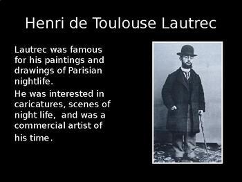 Art History-Toulouse Lautrec