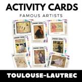 Toulouse-Lautrec - Famous Artists Activity Cards - Art Uni