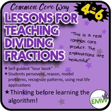 Dividing Fractions Lessons