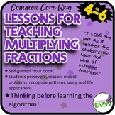 Lessons for Teaching Multiplying Fractions the Common Core Way!