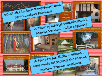 Real Photo Slideshow of Mount Vernon and Tour George Washington's Estate
