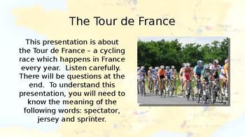 Tour de France 2017  presentation / assembly – lesson, quiz, activity, resource