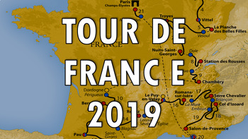 Tour de France 2018  Presentation – lesson, quiz, activity, resource, PowerPoint
