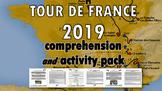 Tour de France 2019 Reading Comprehension, Crossword & Wordsearch, Activity Pack