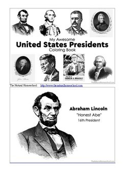 Tour of the USA ~ Printable Presidents Bundle 1