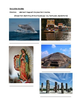 Touring Mexico - video activities