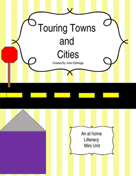 Touring Towns and Cities Literacy Backpack