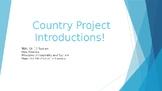 Tourism Paper Mache Project