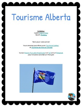 Tourism Research Project: Alberta *FRENCH*