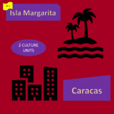 Caracas (1) Isla Margarita (2); tourism and urban growth - SP Intermediate 1