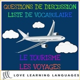 Tourisme et voyages - Tourism and travel - French themed c