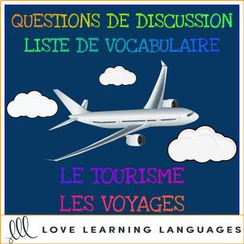 Advanced French conversation questions - Tourisme et voyages
