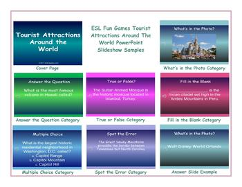 Tourist Attractions Around The World PowerPoint Slideshow