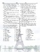 Tourist Attractions Around The World Word Word Search Worksheet