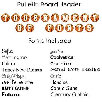 Tournament of Fonts