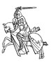 Tournaments, Jousts, and the Code of Chivalry Word Search