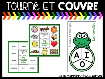 Tourne et couvre/ Spin and Cover