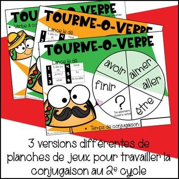 Tourne-o-verbe - 2e cycle