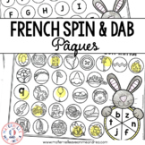 FRENCH Easter Math and Literacy Dab It Activities (Pâques)