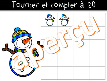 Tourner et compter à 20 - HIVER  - (French-FSL)