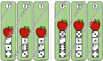 Tours de dés - Pommes