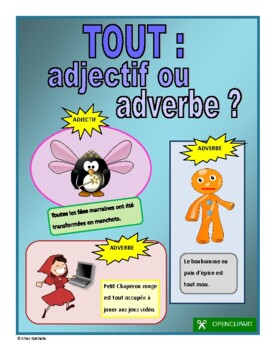 Tout: Adjective or Adverb?