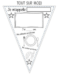 Tout Sur Moi Fanion - Primary French All About Me Pennant