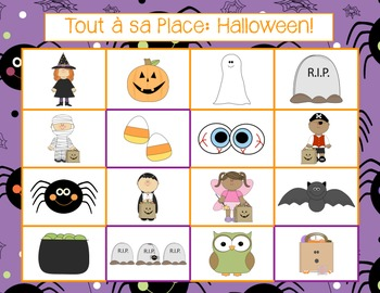 Tout à sa Place - Halloween