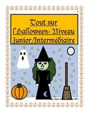 Tout sur l'Halloween- Niveau Junior/Intermédiaire