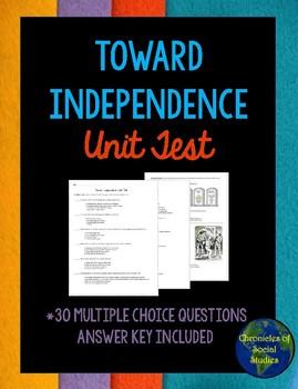 Toward Independence Unit Test