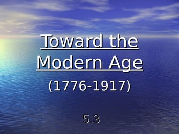 Toward the Modern Age: Science & Romanticism (5.3)