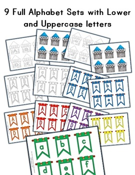 Tower / Banner Castle Letter Classroom Decorations