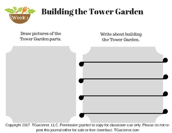 Tower Garden Kindergarten Journal