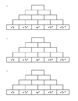 Tower Multiplication - Exponents 1