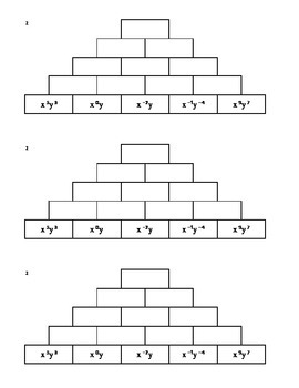 Tower Multiplication - Exponents (All 4!)
