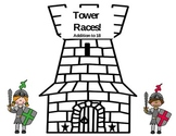 Tower Race! Addition, Doubles, 3 Addend, CCSS Center!