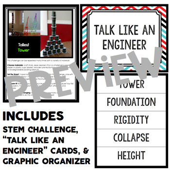 Tower STEM Challenge - Quick STEM Activity
