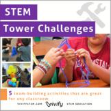 Tower STEM Challenges: 5 Icebreaker Activities