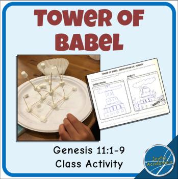 Tower of Babel Class Activity by Joyful Academics   TpT