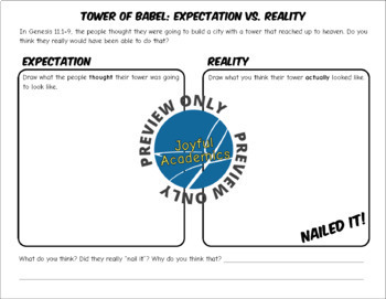 Tower of Babel Class Activity
