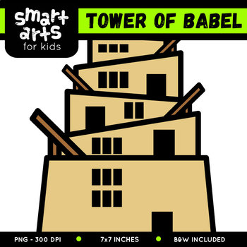 Tower of Babel Clip Art