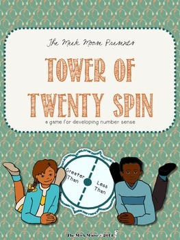 Tower of Twenty Spin - a number sense game