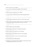 Town City Research Questionnaire for Life After High School